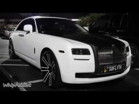 WhipAddict: White Audi S7 and Rolls Royce Ghost on at Velvet Room Atlanta