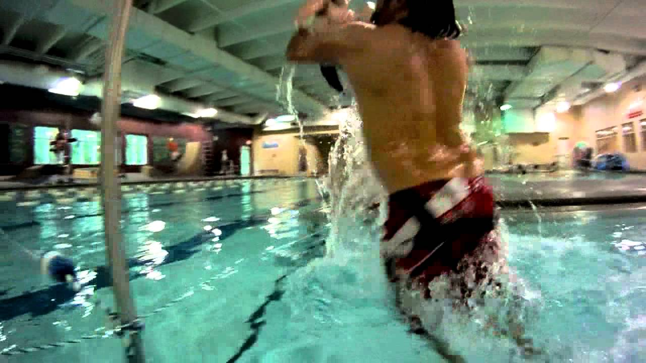 Swimming At Ymca Pool Funny Ending Filmed With Gopro Camera Dosomelaundry Youtube