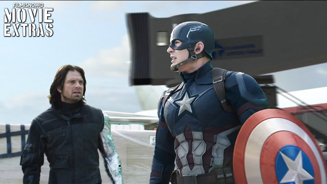 Captain America: Civil War 'Not Used To The Truth' & 'Get Me One Of Those' Deleted Scenes