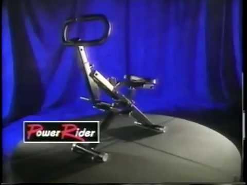 power rider exercise machine manual