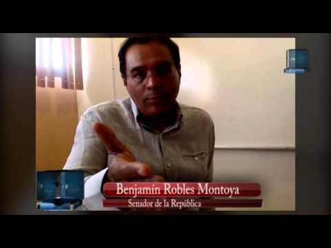 Senador Benjamín Robles visita Tuxtepec