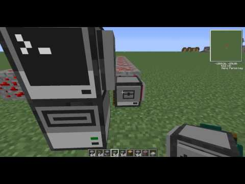 Minecraft Tekkit Computercraft Rednet Tutorial Part 1
