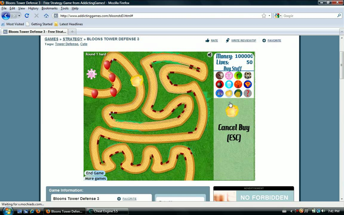 How to hack bloons tower defense 3 for unlimited money youtube