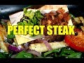 Perfect pan - FRIED STEAK With Salad 2018 | Chef Ricardo Cooking Shows