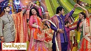 Swaragini | Ragini-Lakshya Swara-Sanskar DANCE Performance | 10th February 2016 EPISODE