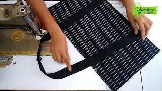 How To Sew Travel Bag From Waste Cloth At Home || How To Make Travel Luggage Bag