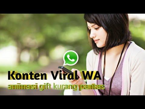 Viral Konten Animasi Di Aplikasi Whatsapp