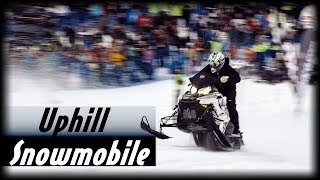 Snowmobile Uphill Race Ural 2016