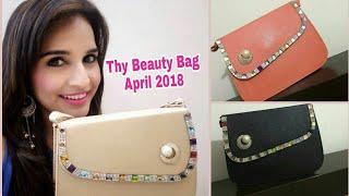 Thy Beauty Bag April 2018   Unboxing & Review  