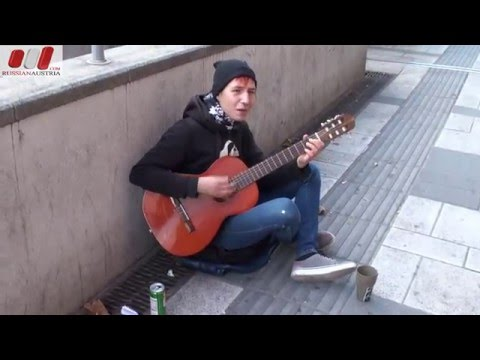 Florian (Romania). Guitar. Vienna Street Performers by RussianAustria (Full HD)