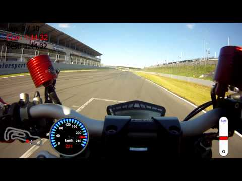 Ducati Streetfighter vs KTM Superduke 1290 R Oschersleben