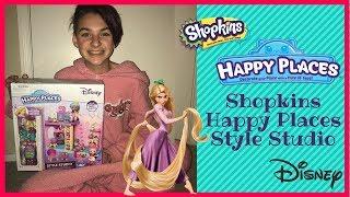 Shopkins | Disney Happy Places | Rapunzel Style Studio