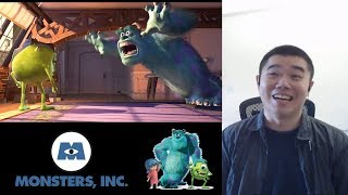 Monsters Inc. Movie Reaction and Review!