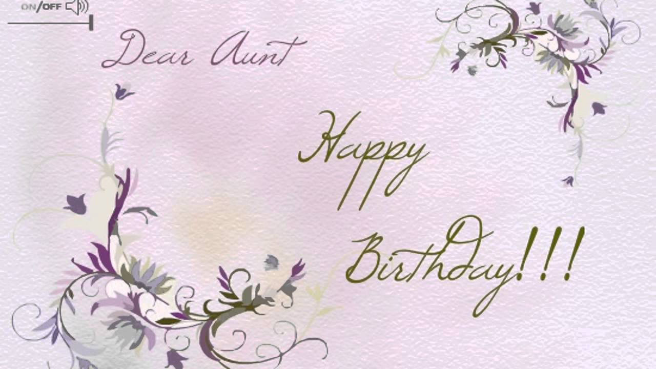 Happy Birthday to my Aunt Ecards Happy Birthday | Aunty | Aunt