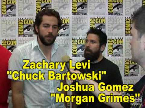 Comic-Con 2009 - Chuck Interviews