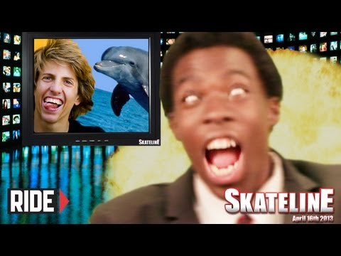SKATELINE - Rob Dyrdek, Paul Rodriguez, Jaws, and More!