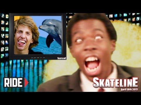 SKATELINE - Rob Dyrdek, Paul Rodriguez, Jaws, and More!