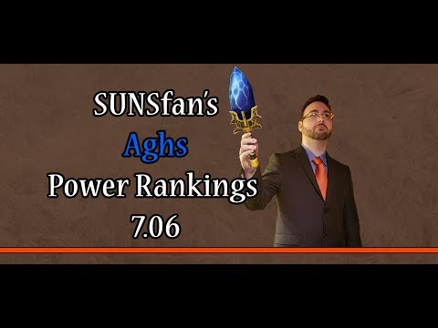 Dota 2 SUNSfan's Aghs Power Rankings 7.06