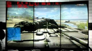 AMD 7970 Crossfire 120Hz Portrait Eyefinity Battlefield 3 Karkand Multiplayer