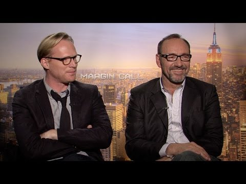 'Margin Call' Paul Bettany and Kevin Spacey Interview HD