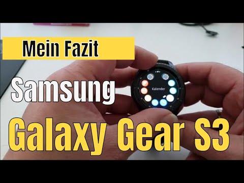 Review Samsung Galaxy Gear S3 Frontier [Fazit nach 1 Jahr] beste Smartwatch ever