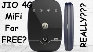 Get JIO 4G MiFi For Free With Unlimited DATA | JIO 4G WIFI For Free | IS IT REALLY???