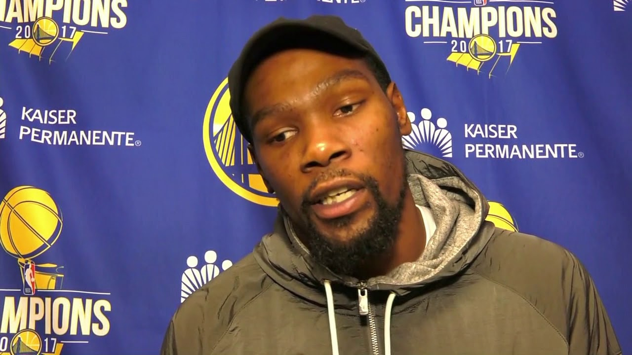 Kevin Durant on win over 76ers, playing Ben Simmons & Joel Embiid and Twitter trash talk | ESPN