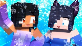 Aphmau and Dottie On Ice | Minecraft Hide and Seek