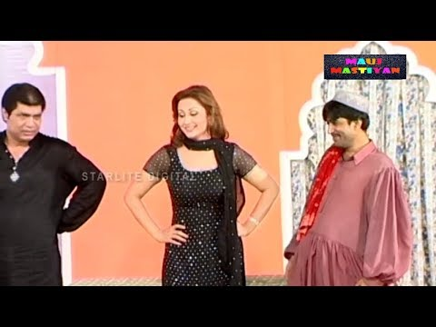 Best of Agha Majid and Nargis || New Pakistani Stage Drama || Full Comedy Clip 2018