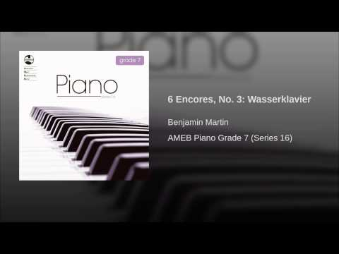 6 Encores, No. 3: Wasserklavier