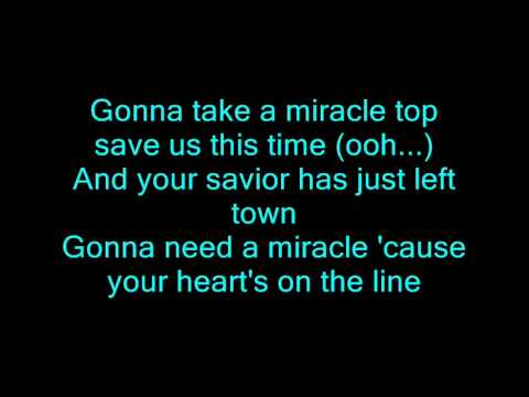 Bon Jovi - Miracle With Lyrics 3d video