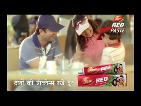 Dabur Red Tooth Paste New Ad - Cute kid playi...