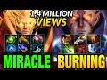 Miracle Invoker vs Burning Anti-mage - Liquid vs IG - LEGENDARY MATCH
