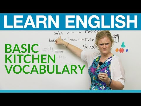Learn English: Basic Kitchen Vocabulary video