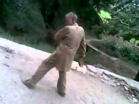 Kashmiri Funny Old Man Dancing video