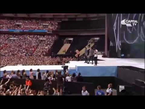 One Direction Performing At The Capital Summertime Ball 2015