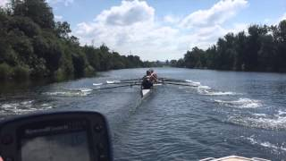 2015 MUBC Mens Youth VIII training camp