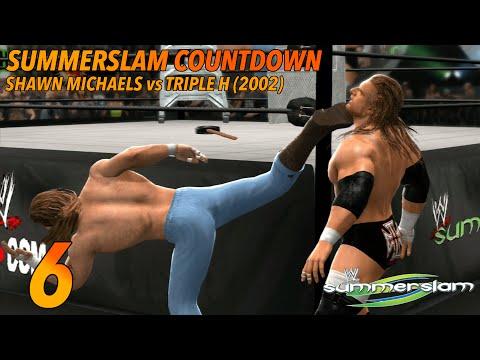 6. Shawn Michaels vs Triple H Summerslam 2002 (WWE 2K14)