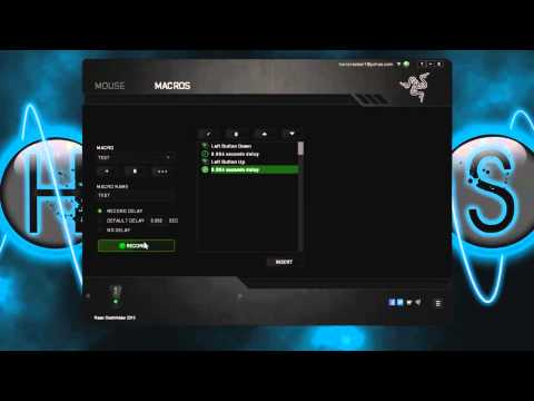 How to Make Rapid Fire Macro for Razer Deathadder