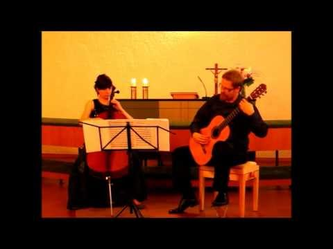 Cello Guitar Duet - Duo Vitare : Twilight Cellos, from the movie The Portait of a Lady