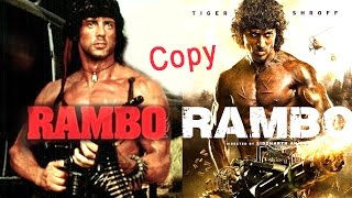 Tiger Shroff's RAMBO Movie Is SHOCKING Copy Of Sylvester Stallone's Hollywood Movie