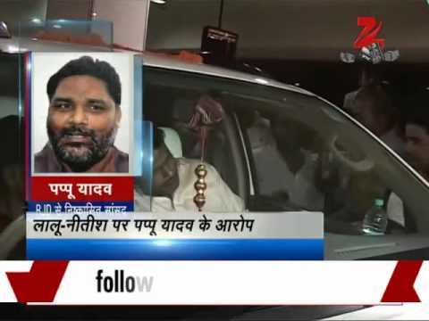 Bihar Poll: Nitish Kumar is Hitler, Lalu is Czar of the state, says Pappu Yadav