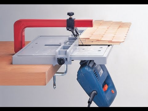 Jigsaw Table - Blade Guide - Straight cut angle - No side movement - www.neutechnik.com