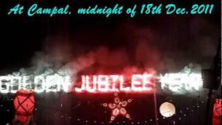 Golden Jubilee of Goa Liberation - Goan Dulpods, firework