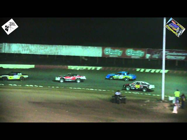 Canyon Speedway Park - StockCar Main January 23rd 2015