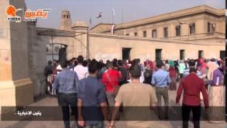 يقين   رصد اليوم الاول للعام الدراسي بجامعة القاهرة