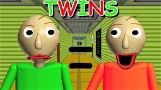 😱 BALDI HAS A TWIN BROTHER?! Wait what? | Baldi's Basics MOD: Baldi's Twin Basics