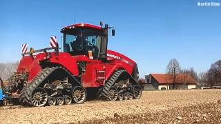 new! CASE IH QUADTRAC 600 | new! FARMET Kompaktomat K 1570 | 3x New Holland | 2013
