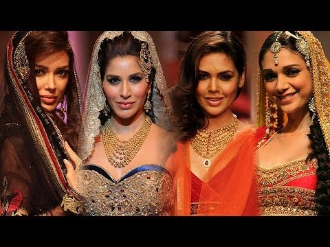 IBFW 2013: Hot Brides Of Bollywood!