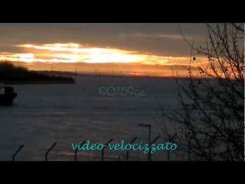 Ciclone Medusa 28/11/2012 Venezia in piena attivita' sulla lagun